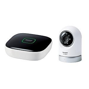 パナソニック ホームネットワークシステム「スマ@ホーム システム」 屋内スイングカメラキット KX-HC600K-W(送料無料)