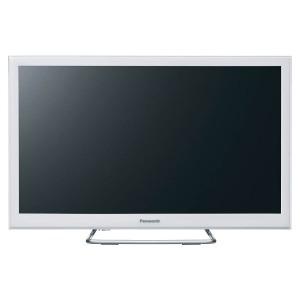 パナソニック 24V型 デジタルハイビジョン液晶テレビ VIERA(ビエラ) TH-24ES500-W ホワイト (別売USB HDD録画対応)