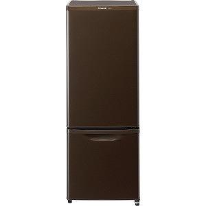 パナソニック 2ドア冷蔵庫 (168L・右開き) NR-B17AW-T マホガニーブラウン(標準設置無料)
