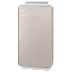 日立 加湿空気清浄機 「自動おそうじ クリエア」(空気清浄:~48畳) EP-NVG110-N シャンパンゴールド