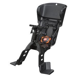 パナソニック フロント用 カジュアルチャイルドシート(ブラック) NCD391
