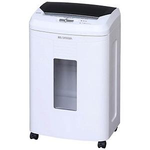 アイリスオーヤマ オートフィードクロスカットシュレッダー (A4サイズ/CD・DVD・カードカット対応) AFS100C (ホワイト)