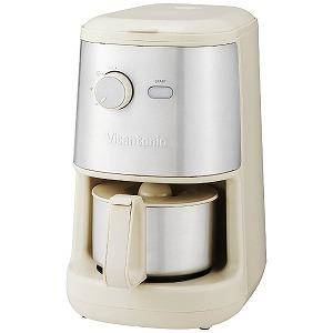 ビタントニオ 全自動コーヒーメーカー VCD-200-I(アイボリー)