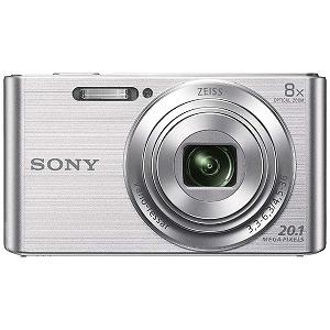ソニー コンパクトデジタルカメラ Cyber-shot(サイバーショット) DSC-W830(シルバー)