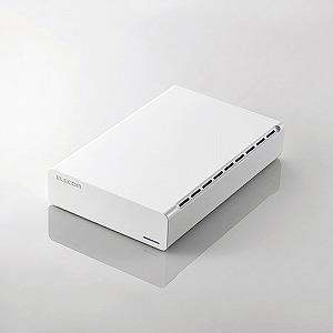 エレコム ひかりTV録画用外付けハードディスク USB3.0 4TB White ELD-ERH040UWH