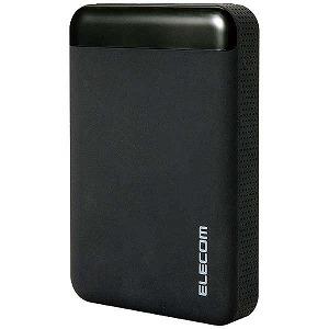 エレコム 外付HDD [USB3.0/2TB・Win] SeeQVault対応 ELP-QEN020UBK