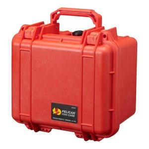 ペリカン 小型防水ハードケース 1300HK (オレンジ)