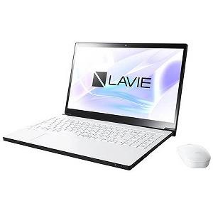 NEC 15.6型ワイドノートPC LAVIE Note NEXT[Office付き・Win10] PC-NX550JAW(2017年10月モデル・グレイスホワイト)