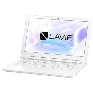 NEC 15.6型ワイドノートPC LAVIE Note Standard[Office付き・Win10] PC-NS600JAW(2017年10月モデル・エクストラホワイト)(送料無料)