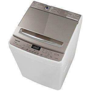 ハイセンス 全自動洗濯機 (洗濯7.5kg) HW-DG75A ホワイト/シャンパンゴールド(標準設置無料)