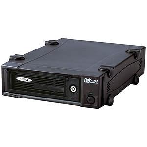 ラトック USB3.0/eSATAリムーバブルケース(外付け1ベイタイプ) SA3DK1EU3X(ブラ