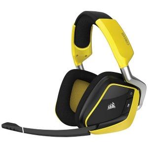 コルセア ワイヤレスゲーミングヘッドセット VOID PRO RGB Wireless SE CA-9011150-AP イエロー