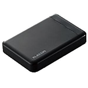 エレコム 外付けHDD [ポータブル型 /1TB] ELP-EDV010UBK