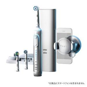 ブラウン 電動歯ブラシ 「ジーニアス9000」 D7015356XCTWH ホワイト(送料無料)