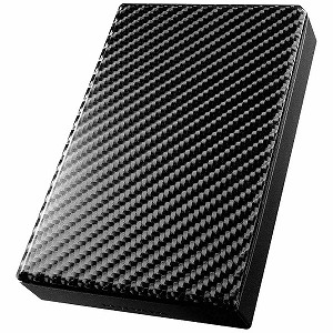 I・O・DATA ポータブルHDD 2TB[USB3.0]ブラック HDPT-UT2DK