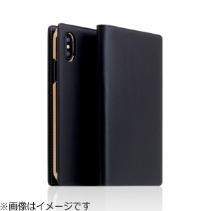 ROA iPhone X用 Buttero Leather Case ブラック  SD10508I8(送料無料)