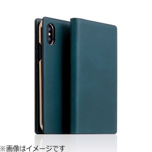 ROA iPhone X用 Buttero Leather Case ブルー  SD10510I8