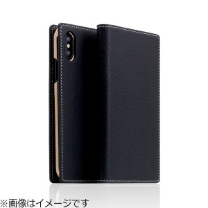 ROA iPhone X用 Minerva Box Leather Case ブラック SD10516I8