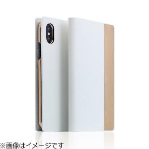 ROA iPhone X用 Calf Skin Metal Case ホワイト SD10545I8