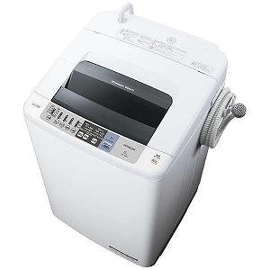日立 全自動洗濯機 (洗濯8.0kg)「白い約束」 NW-80B-W(標準設置無料)