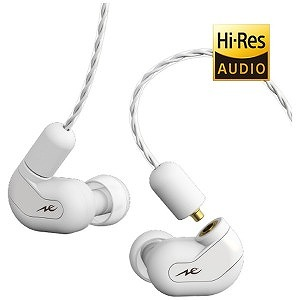 RADIUS リケーブル対応 ハイブリッド型ハイレゾ対応イヤホン HP-HHR11R-W ホワイト