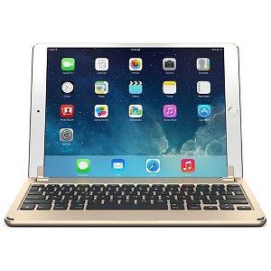 10.5インチiPad Pro用 ハードケース一体型Bluetoothキーボード BRY8003 (ゴールド)