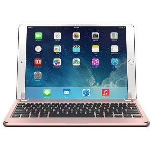 10.5インチiPad Pro用 ハードケース一体型Bluetoothキーボード BRY8004 (ローズゴールド)