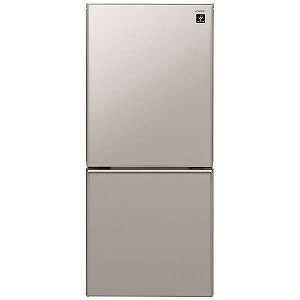 シャープ 2ドア冷蔵庫(137L・つけかえどっちもドア) SJ-GD14D-C メタリックベージュ(標準設置無料)
