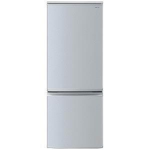 シャープ 2ドア冷蔵庫(167L・右開き・左開き付け替えタイプ) SJ-D17D-S シルバー(標準設置無料)