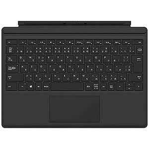 マイクロソフト 【純正】 Surface Pro 2017用 タイプカバー FMM-00019 ブラック
