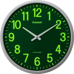 キングジム 電波掛け時計「ザラージ(集光・蓄光文字盤)」 GDKS-001