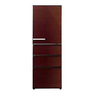 AQUA 4ドア冷蔵庫 (355L・右開き) AQR-SV36G-T グロスブラウン(標準設置無料)