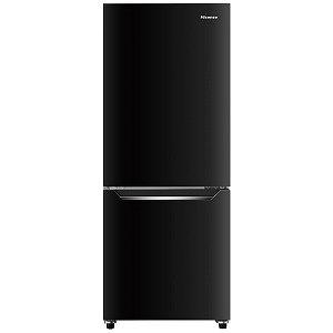 ハイセンス 2ドア冷凍冷蔵庫(150L・右開き) HR-D15CB パールブラック(標準設置無料)