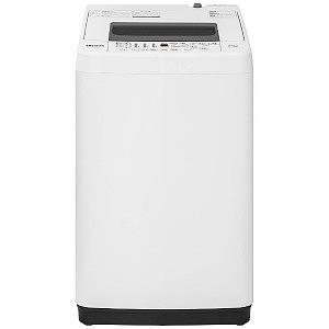 ハイセンス 全自動洗濯機 (洗濯4.5kg) HW-T45C ホワイト(標準設置無料)