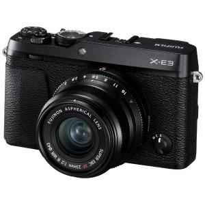 富士フィルム ミラーレス一眼カメラ X-E3(XF23mmF2レンズキット) ブラック(送料無料)