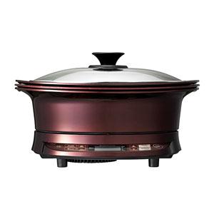 小泉成器 グリル鍋 KIH-1411-R レッド