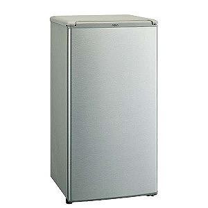 AQUA 1ドア冷蔵庫(75L・右開き) AQR-8G(S) ブラッシュシルバー(標準設置無料)