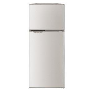 シャープ 2ドア冷蔵庫(118L・右開き) SJ-H12D-S シルバー系(標準設置無料)