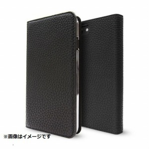 トーン iPhone 8 Plus用 Leather Folio Case ブラック CP-AP-PH7P-7301