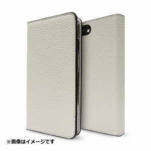 トーン iPhone 8 Plus用 Leather Folio Case グレージュ CP-AP-PH7P-7302