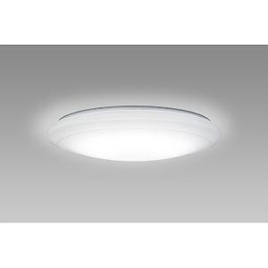 NECライティング リモコン付LEDシーリングライト (~8畳) HLDCB08100SG 調光・調色(昼光色~電球色)