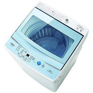 AQUA 全自動洗濯機 (洗濯5.0kg) AQW-GS50F-W ホワイト(標準設置無料)