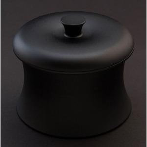 穴織カーボン ≪IH対応≫ カーボン製小型鍋 「COCOTTE RINGO(ココット リンゴ)」(0.55L) RG001JB ジャパンブラック