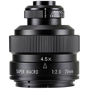 交換レンズ FREEWAKER 20mm F2  SUPER MACRO 4-4.5:1【キヤノンEFマウント】(送料無料)