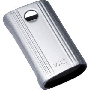 DEFF 電子タバコglo用アルミ製ジャケットケース 「Aluminum Case for glo」 WAC-GLOSV2 シルバー