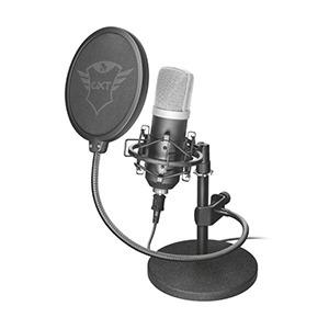 トラスト マイク GXT 252 Emita Streaming Microphone 21753 ブラック [USB]