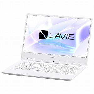 NEC LAVIE Note Mobile 12.5型ノートPC PC-NM350KAW パールホワイト