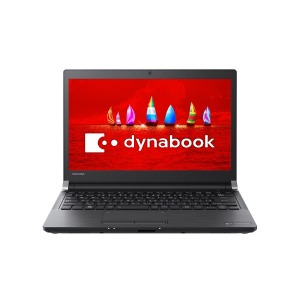 東芝 13.3型ノートPC[Office付き・Win10 Home・Celeron] dynabookRX33/FBグラファイトブラックPRX33FBPSEAク(送料無料)