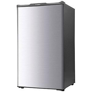 エスキュービズム 1ドア冷凍庫 (60L・右開き) WFR-1060SL シルバー(標準設置無料)
