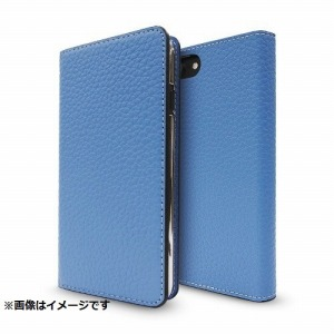 FOX iPhone 8用 Leather Folio Case ブルー CP-AP-PHE-77303